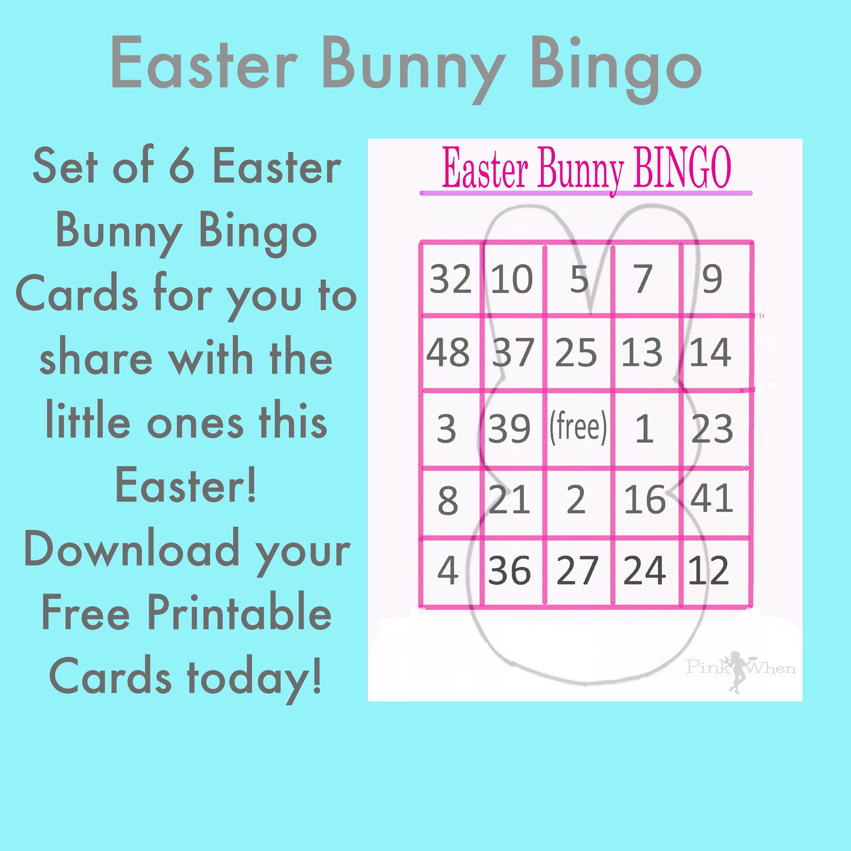 Free Printable Easter Bingo Cards – Hd Easter Images - Free Printable Religious Easter Bingo Cards