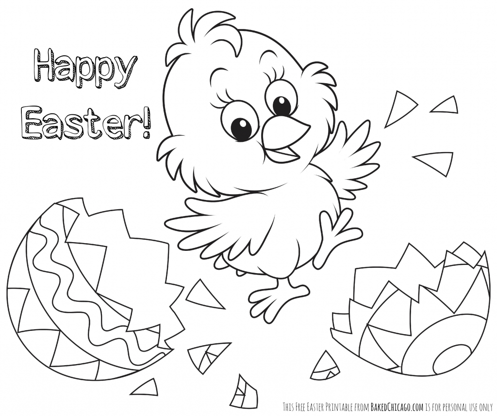Free Printable Easter Coloring Pages - Coloriageenligne.club   Free - Easter Color Pages Free Printable