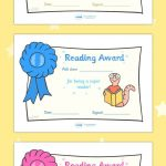 Free Printable Editable Reading Award Certificates … | First Grade   Free Printable Best Daughter Certificate