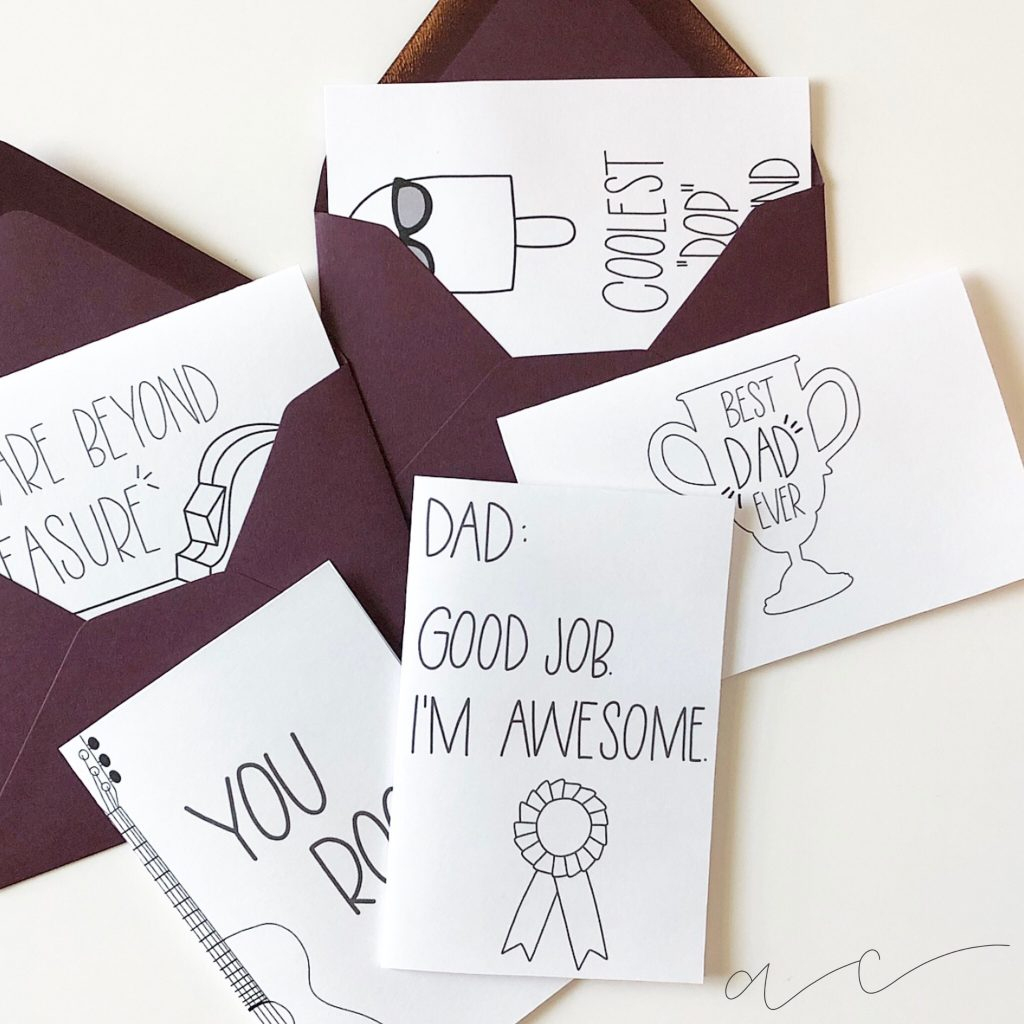Free Printable! - Father's Day Cards   All Things Thrifty - Hallmark Free Printable Fathers Day Cards