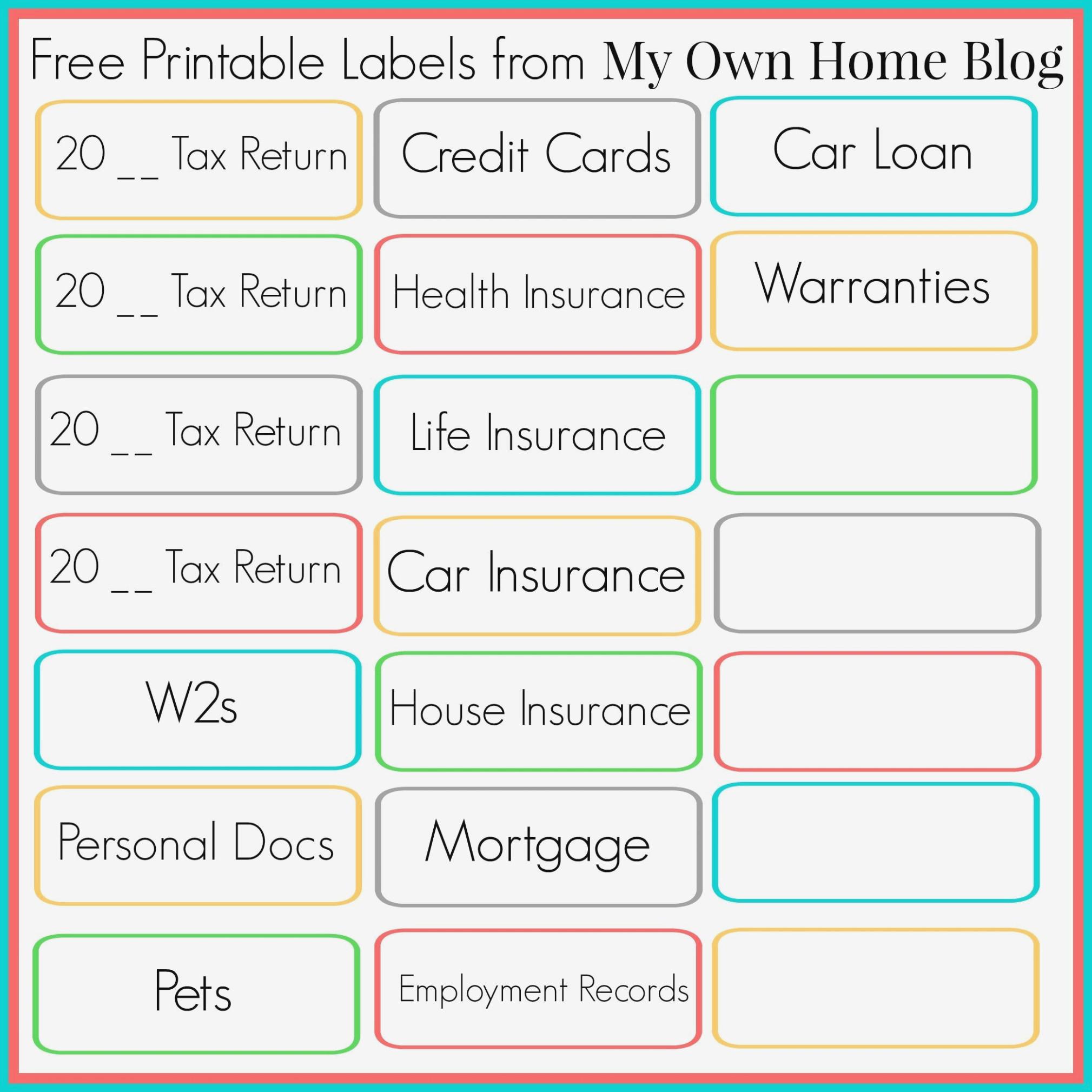 Free Printable File Folder Labels – Canre.klonec – Label Maker Ideas - Free Printable File Labels