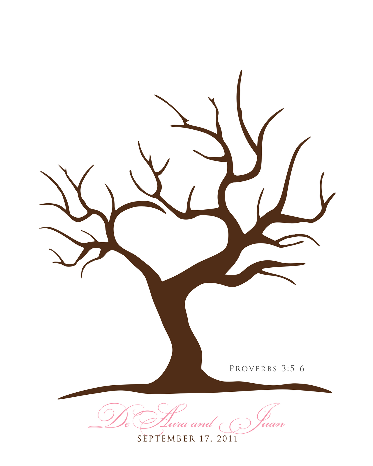 Free Printable Fingerprint Tree Template   Embroidery   Pinterest - Free Printable Tree Template