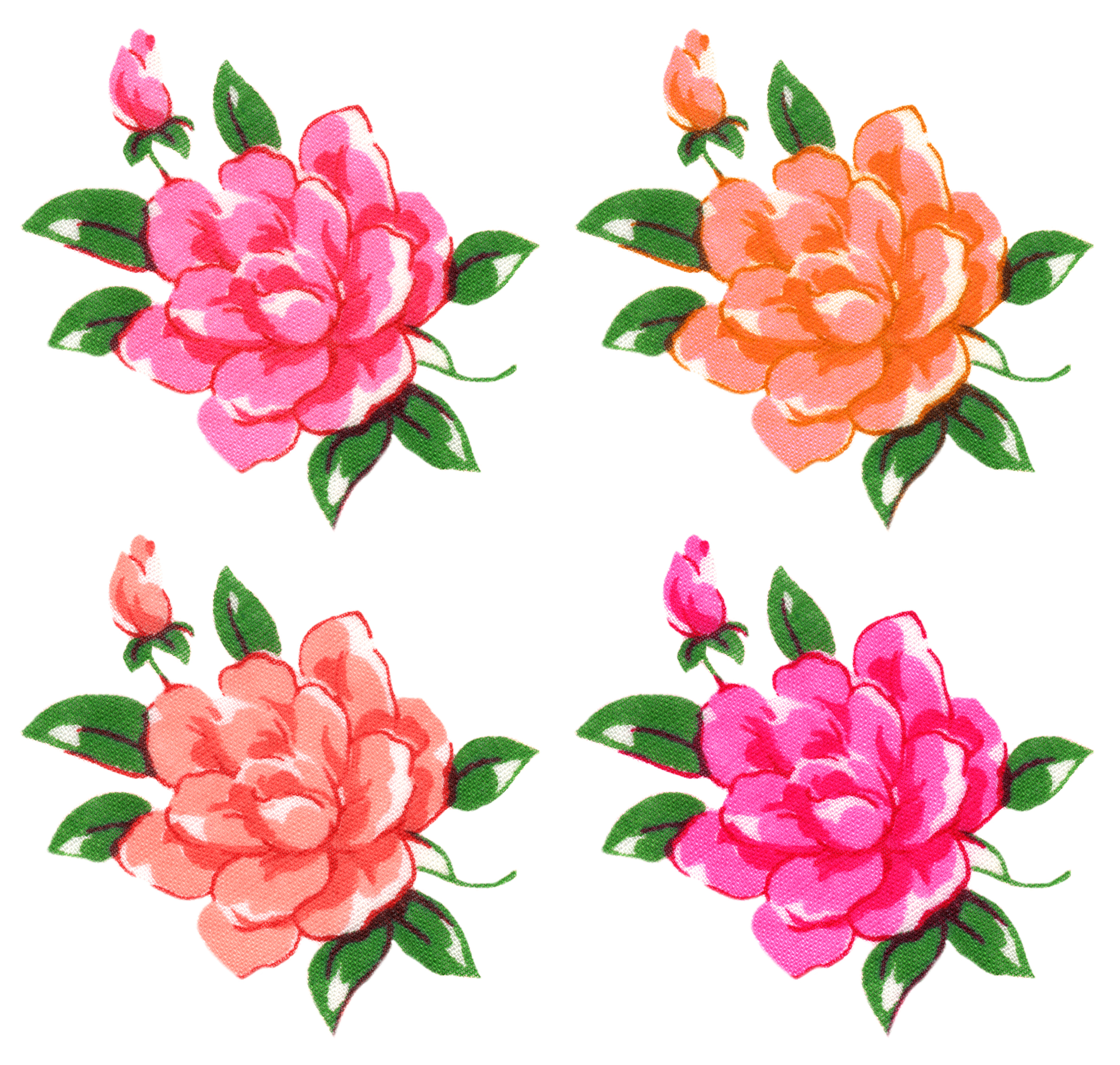 Free Printable Flower Library - Rr Collections - Free Printable Clipart Of Flowers