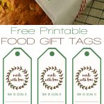 Free Printable Food Gift Tags | ***awesome Things*** | Pinterest   Diy Gift Tags Free Printable