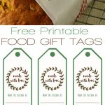 Free Printable Food Gift Tags | ***awesome Things*** | Pinterest   Free Customized Name Tags Printable