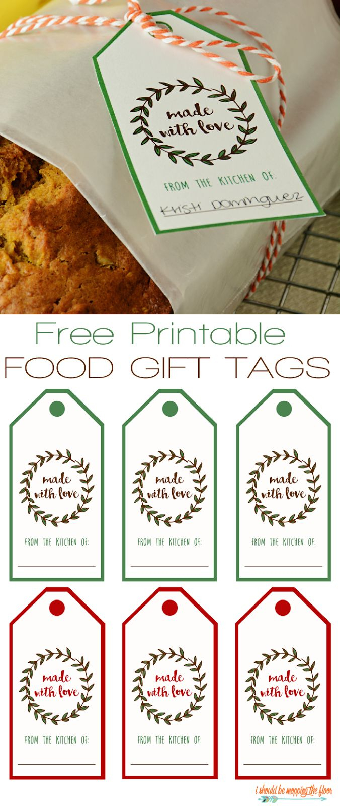 Free Printable Food Gift Tags | ***awesome Things*** | Pinterest - Free Customized Name Tags Printable