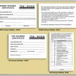 Free Printable Forklift Certification Cards | Free Printable   Free Printable Forklift Certification Cards