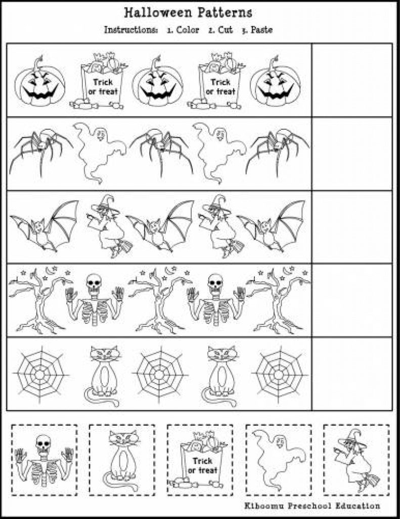 Free Printable French Halloween Worksheets   Free Printable - Free Printable French Halloween Worksheets