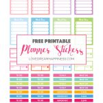 Free Printable Functional Planner Stickers For Your Erin Condren   Printable Erin Condren Stickers Free