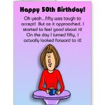 Free Printable Funny Birthday Cards Card Design Ideas Happy Gift   Free Printable 50Th Birthday Cards Funny