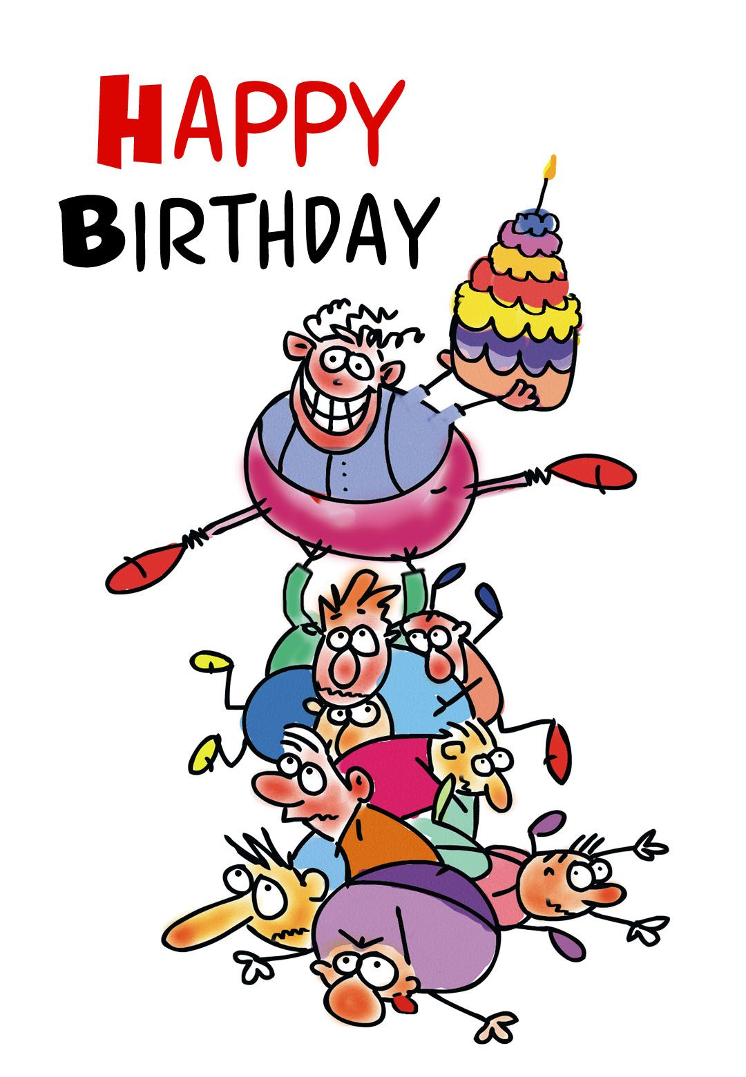 Free Printable Funny Birthday Greeting Card   Gifts To Make   Free - Free Printable Funny Birthday Cards For Coworkers