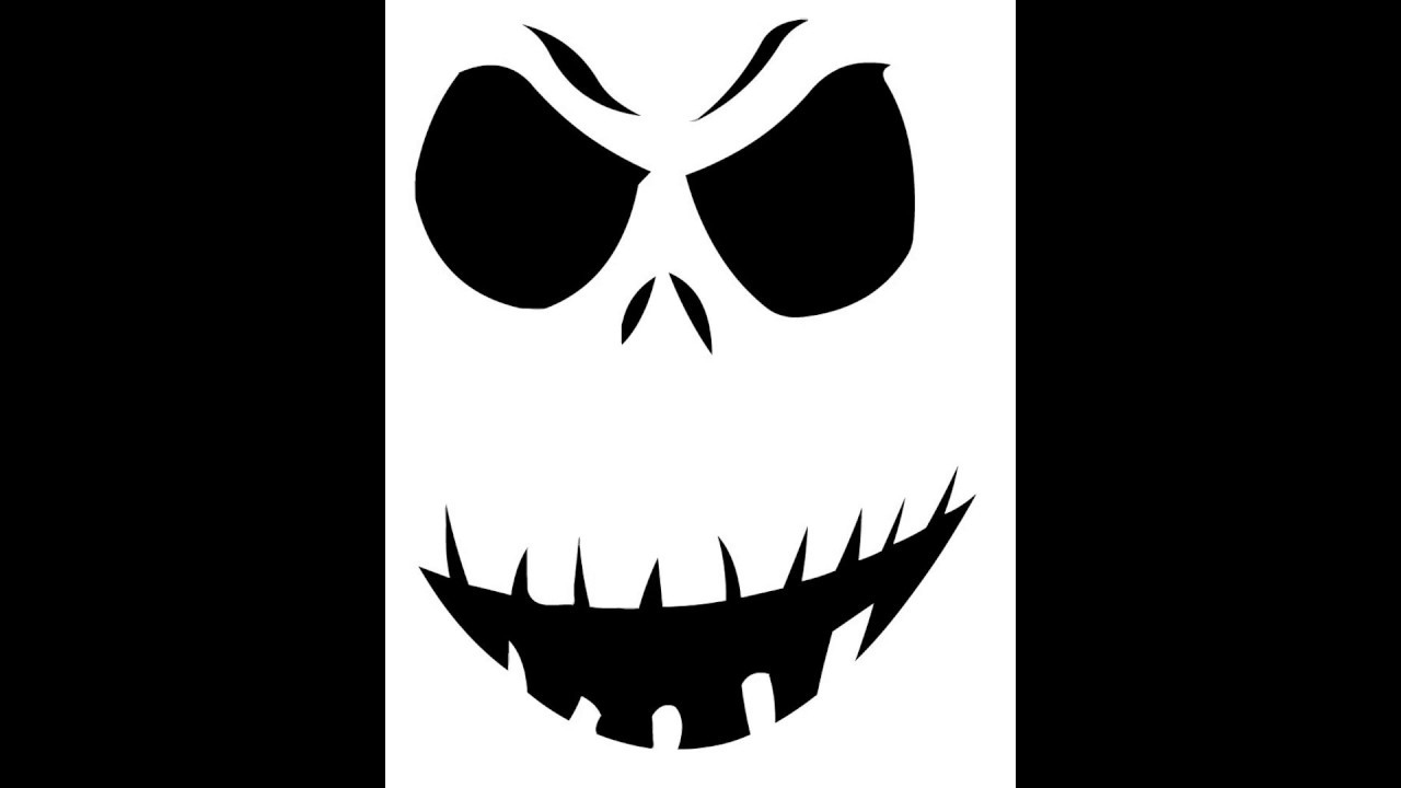Free Printable Funny Scary Pumpkin Carving Stencils 2017 - Youtube - Free Printable Scary Pumpkin Patterns