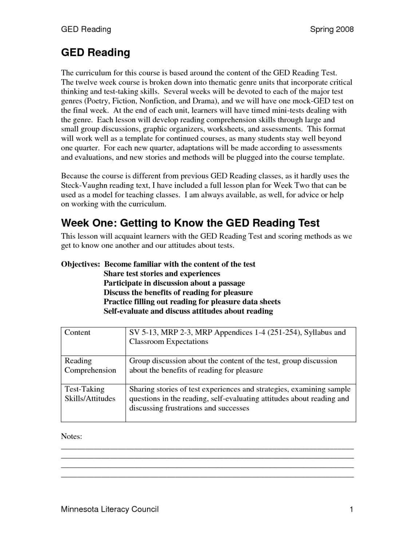 photo relating to Tabe Practice Test Free Printable identify Printable Ged Prepare Worksheets Language Arts - Joyful
