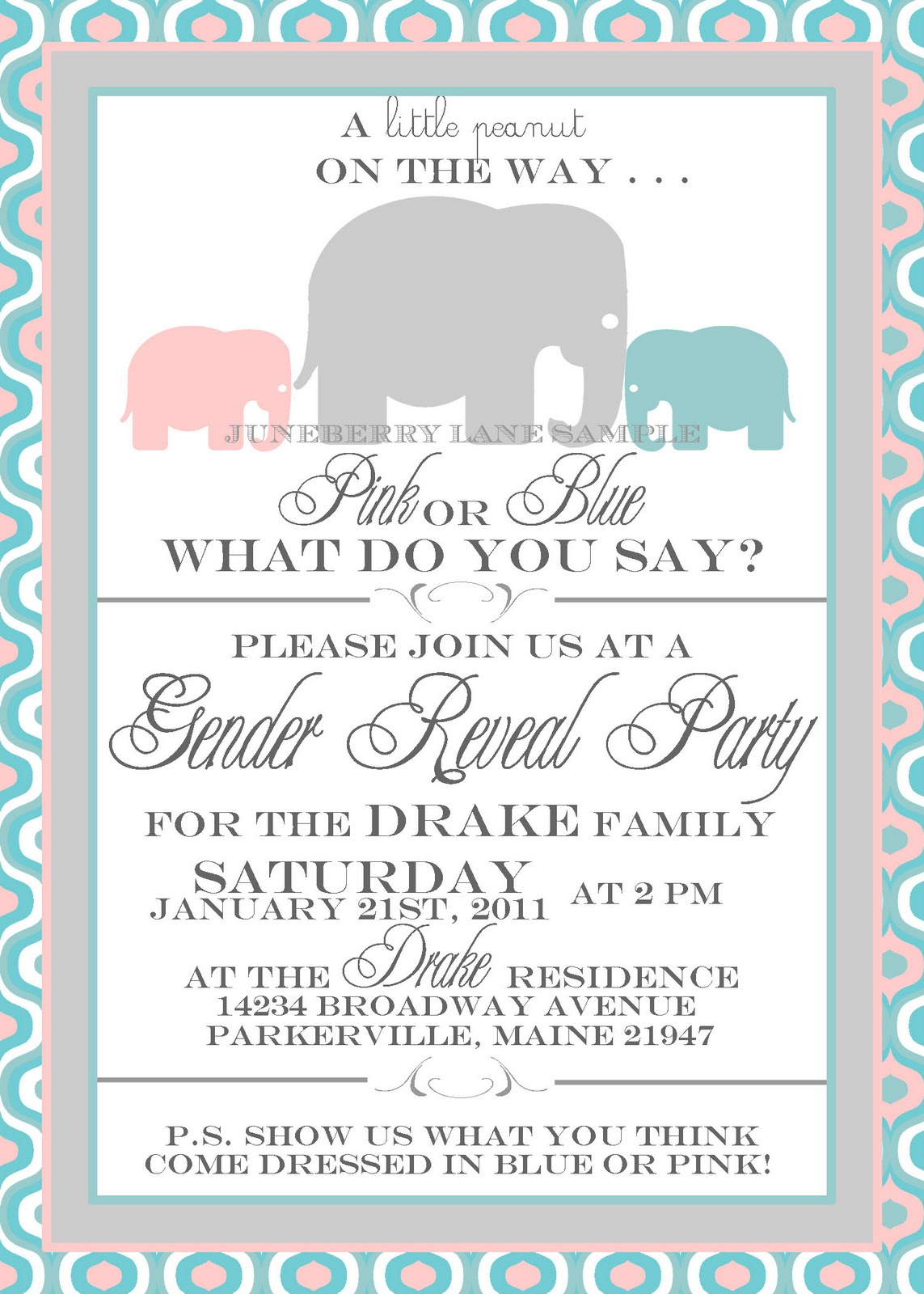 Free Printable Gender Reveal Party Invitations Free Printable Gender - Free Printable Gender Reveal Invitations