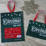 Free Printable| Gift Card Holder Spend Christmas   Free Printable Christmas Money Holders