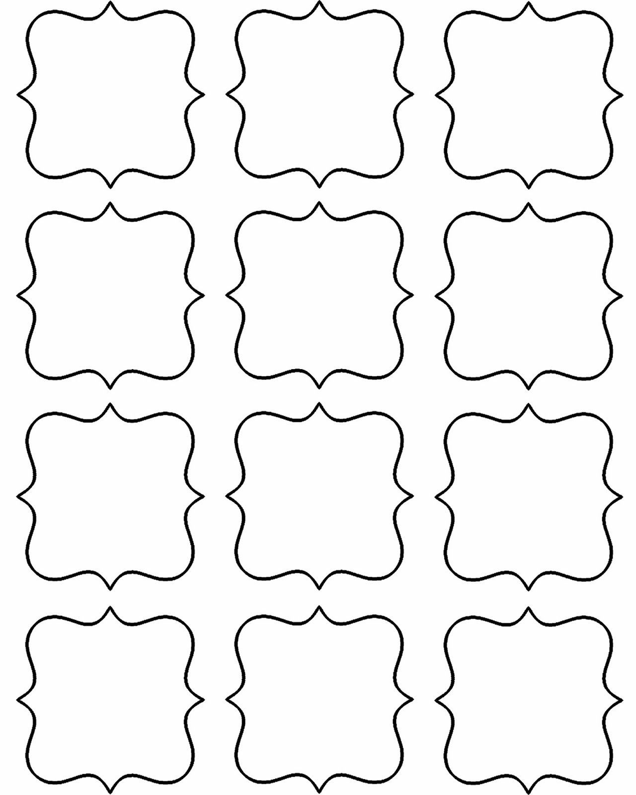 Free Printable Gift Tag Templates For Word – Prntbl - Free Online Gift Tags Printable