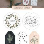 Free Printable Gift Tags | Holiday   Christmas | Pinterest | Holiday   Diy Gift Tags Free Printable