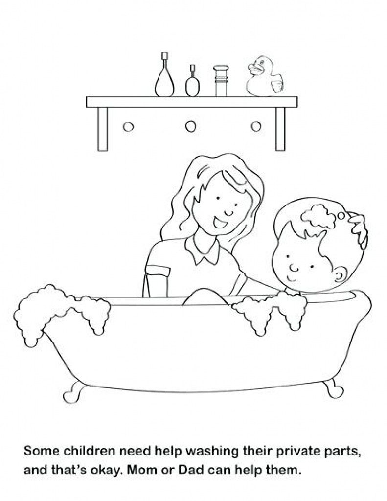 Free Printable Good Touch Bad Touch Coloring Book   Free Printable - Free Printable Good Touch Bad Touch Coloring Book