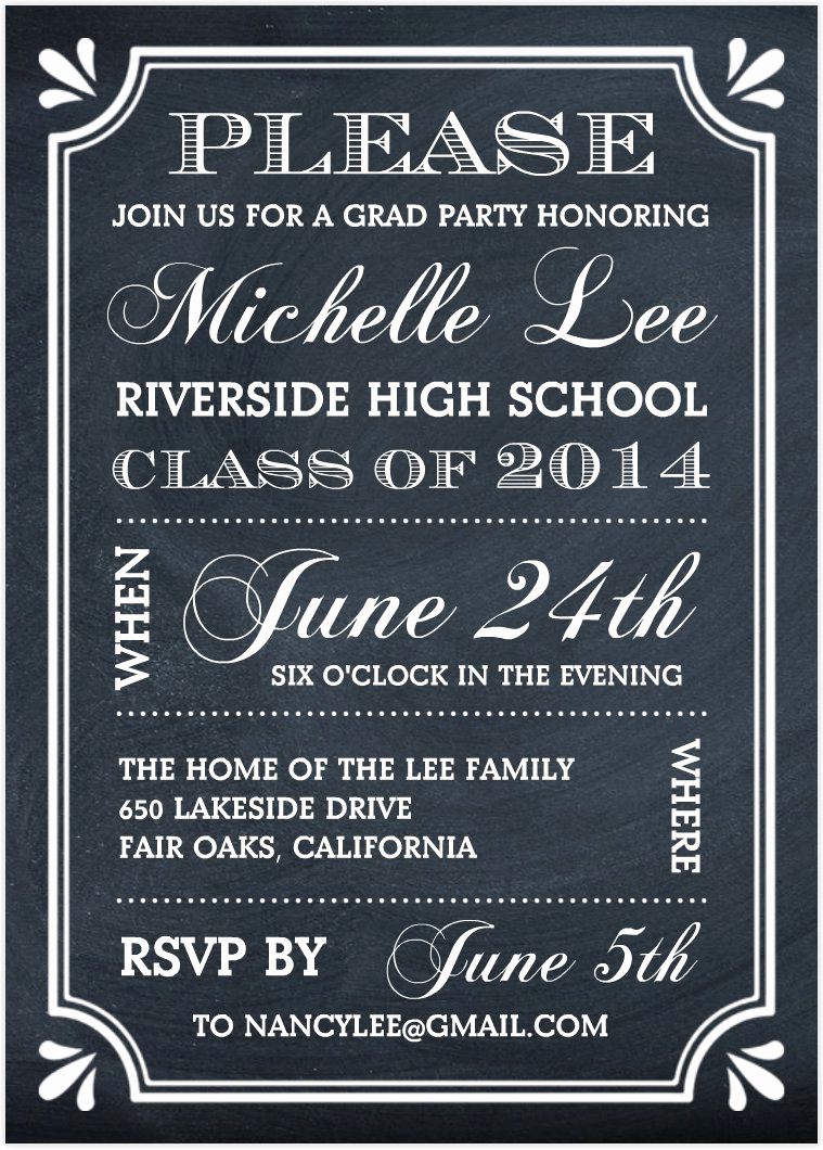 Free Printable Graduation Invitations Graduation - Classy World - Free Printable Graduation Invitations 2014