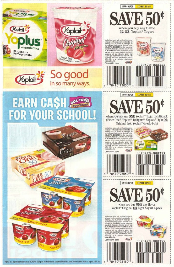 Free Printable Coupons For Food