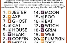 Free Printable Halloween Bingo Cards | Catch My Party – Free Printable Halloween Bingo