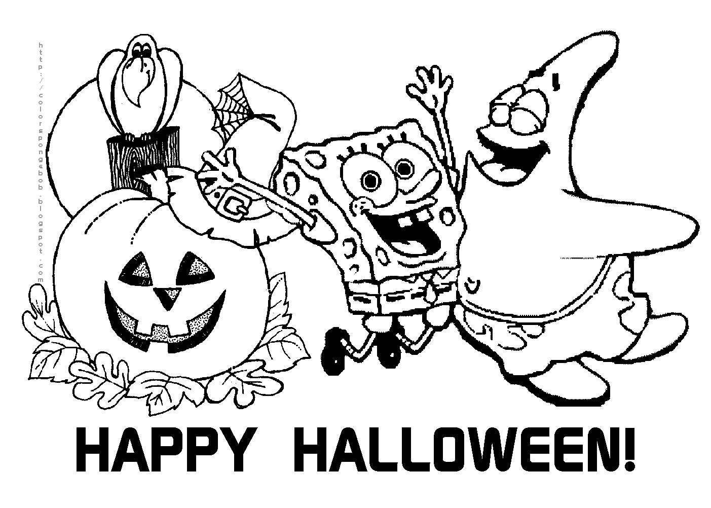 Free Printable Halloween Coloring Pages For Kids | Events Bloging - Free Printable Halloween Coloring Pages