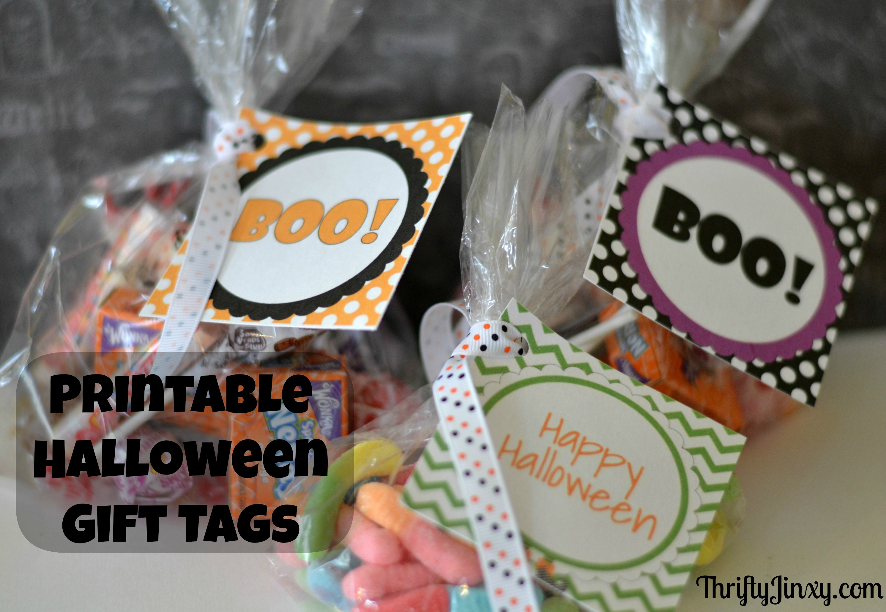 Free Printable Halloween Gift Tags And Treat Bag Tags - Thrifty Jinxy - Free Printable Gift Bag Tags