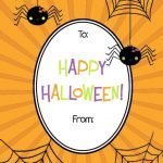 Free Printable Halloween Gift Tags | Popsugar Smart Living   Free Printable Halloween Tags
