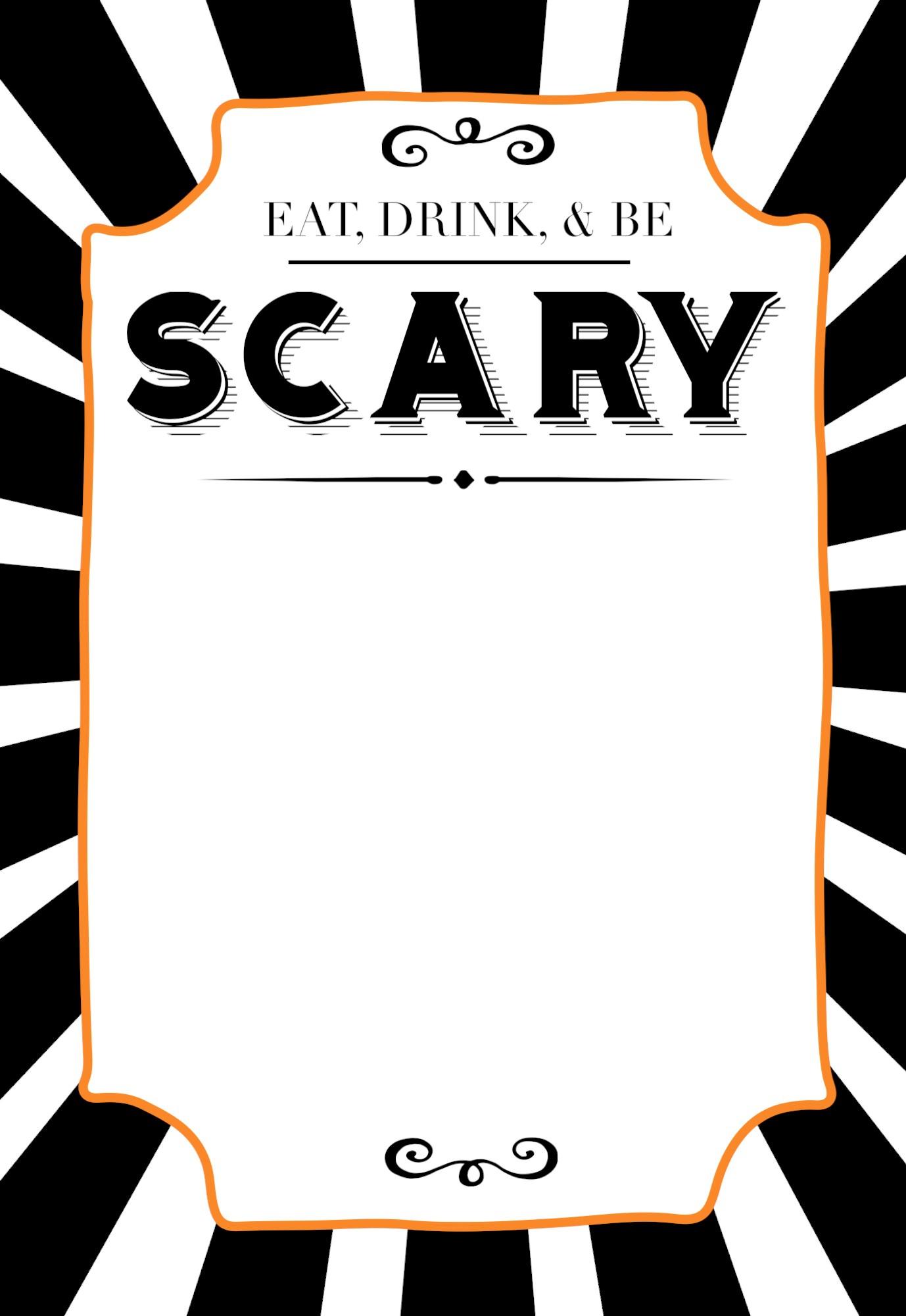 Free Printable Halloween Invitation Templates Free Printable Free - Free Printable Halloween Party Invitations