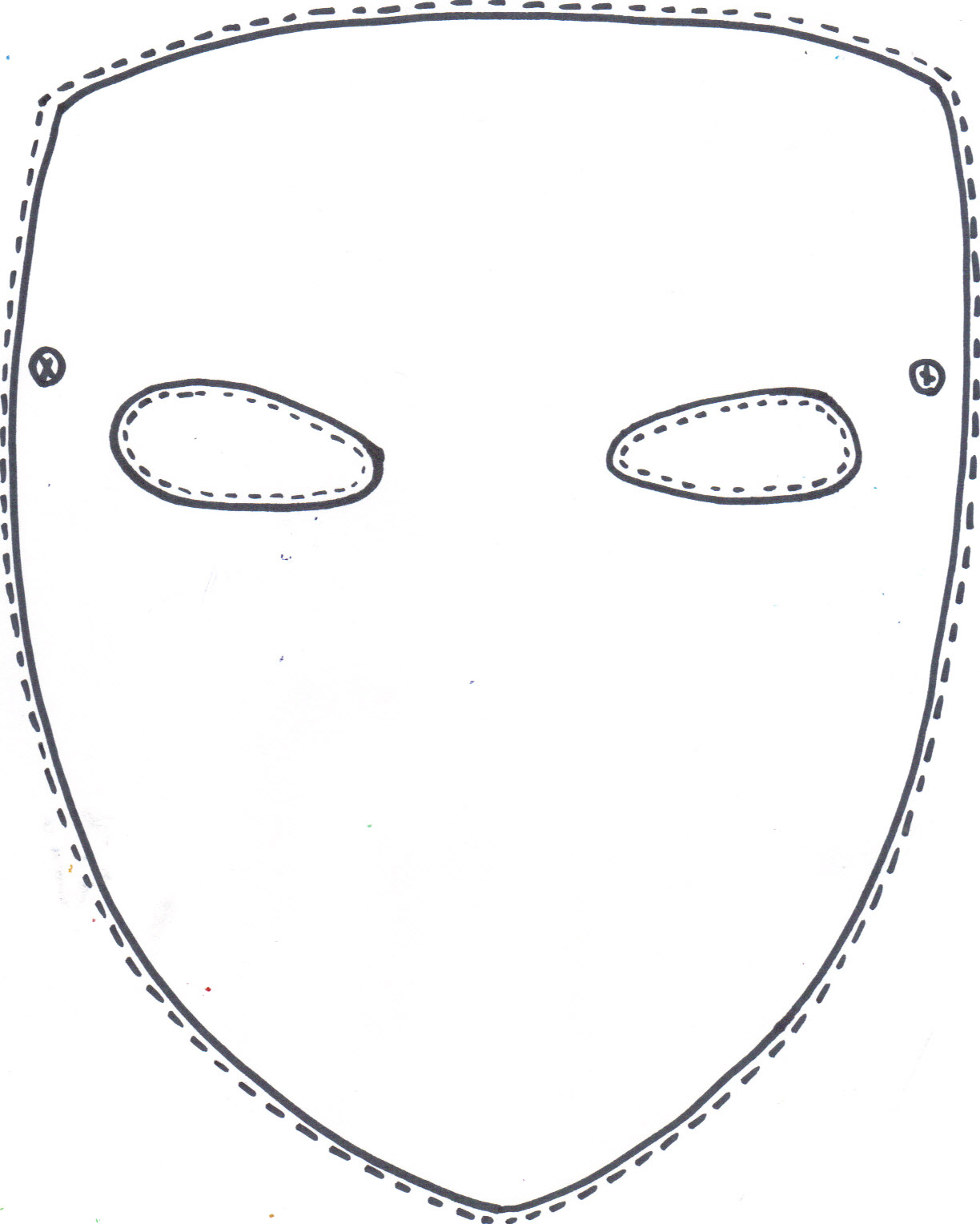 Free Printable Halloween Mask Of Beast From Beauty And The  Face - Free Printable Face Masks