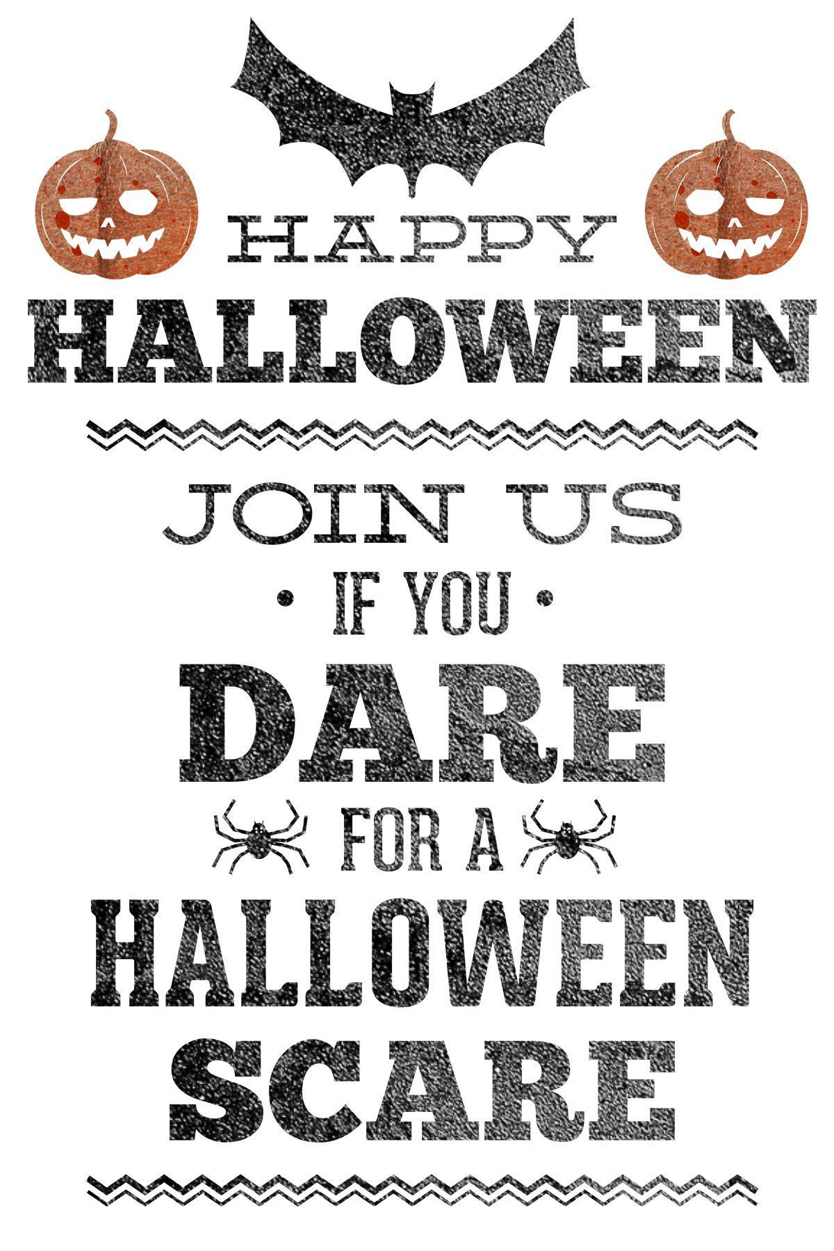 Free Printable Halloween Party Invitation | Halloween Printables 2 - Free Printable Halloween Party Decorations