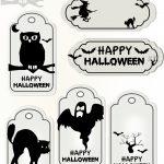 Free Printable Halloween Tags   Druckvorlage Halloween   Freebie   Free Printable Halloween Homework Pass
