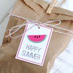 Free Printable Happy Summer Gift Tags   Katarina's Paperie   Free Printable Goodie Bag Tags