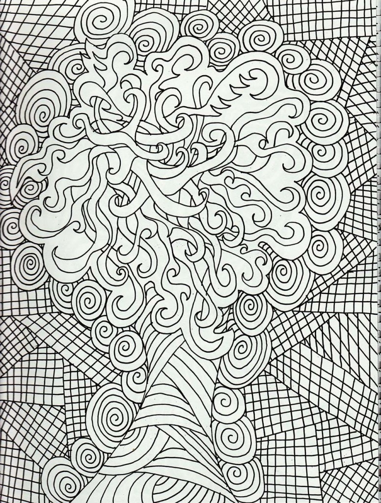 Free Printable Hard Coloring Pages 8 #7876 - Free Printable Hard Coloring Pages For Adults