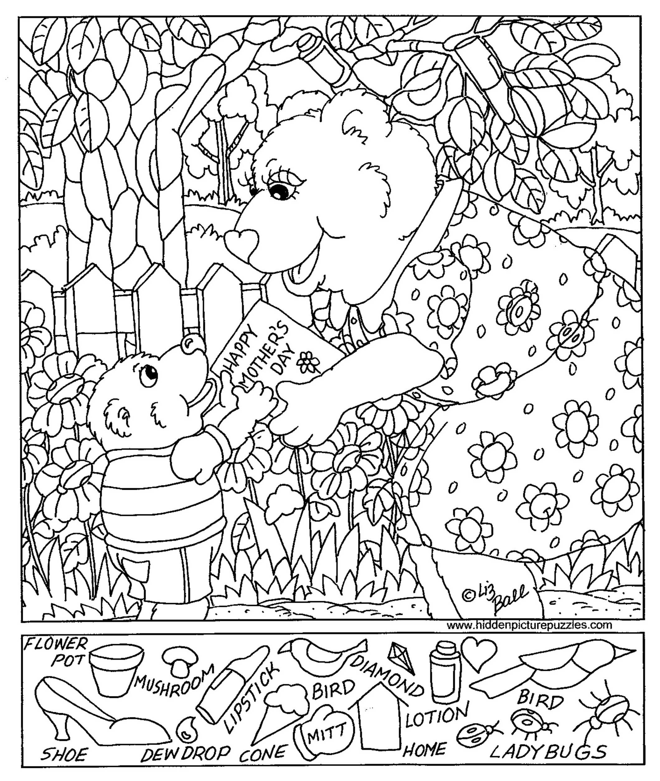 Free Printable Hidden Pictures For Kids At Allkidsnetwork - Free Printable Hidden Pictures For Adults