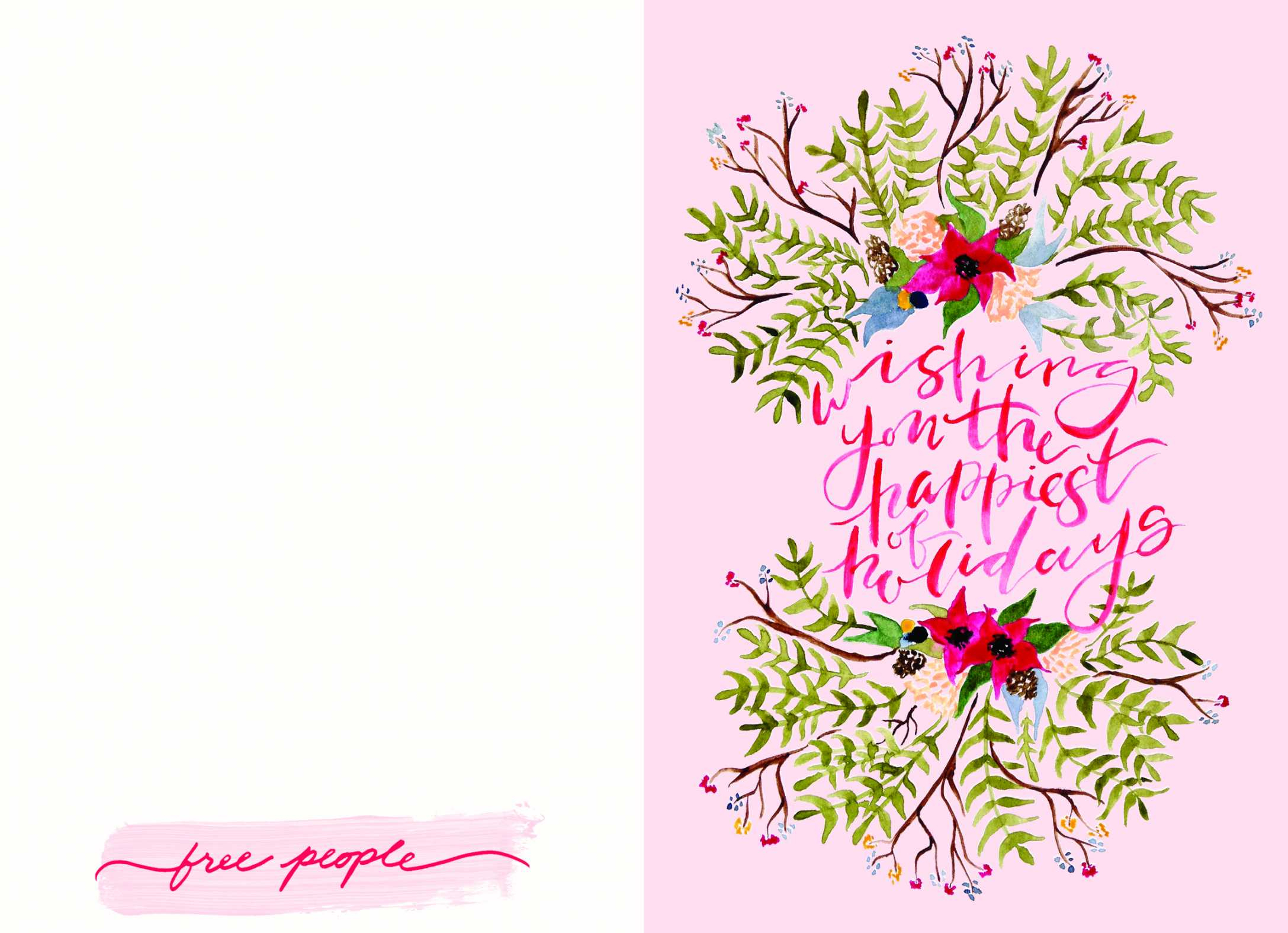 Free Printable Holiday Cards Free People Holiday Card Luxury - Make A Holiday Card For Free Printable