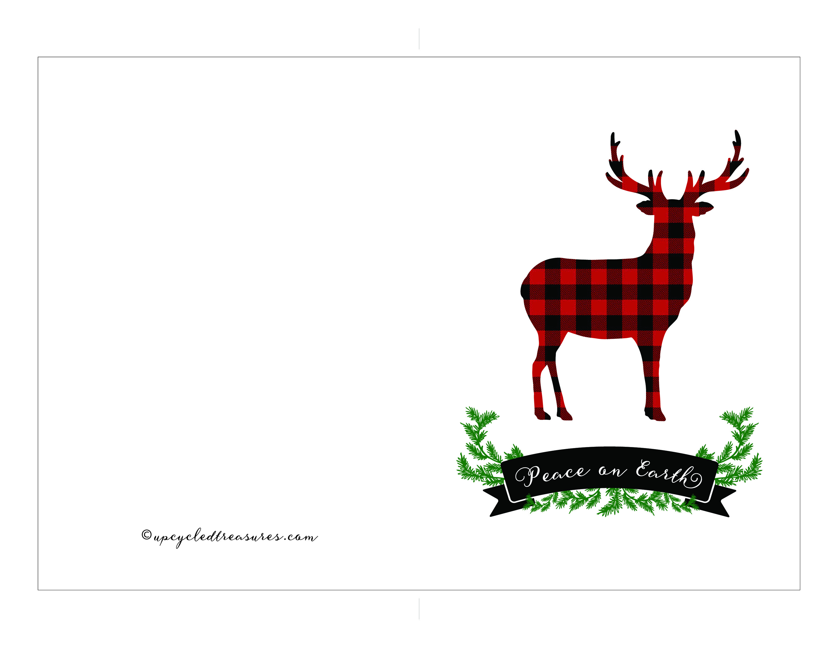 Free Printable Holiday Cards | Mountain Modern Life - Free Printable Holiday Cards
