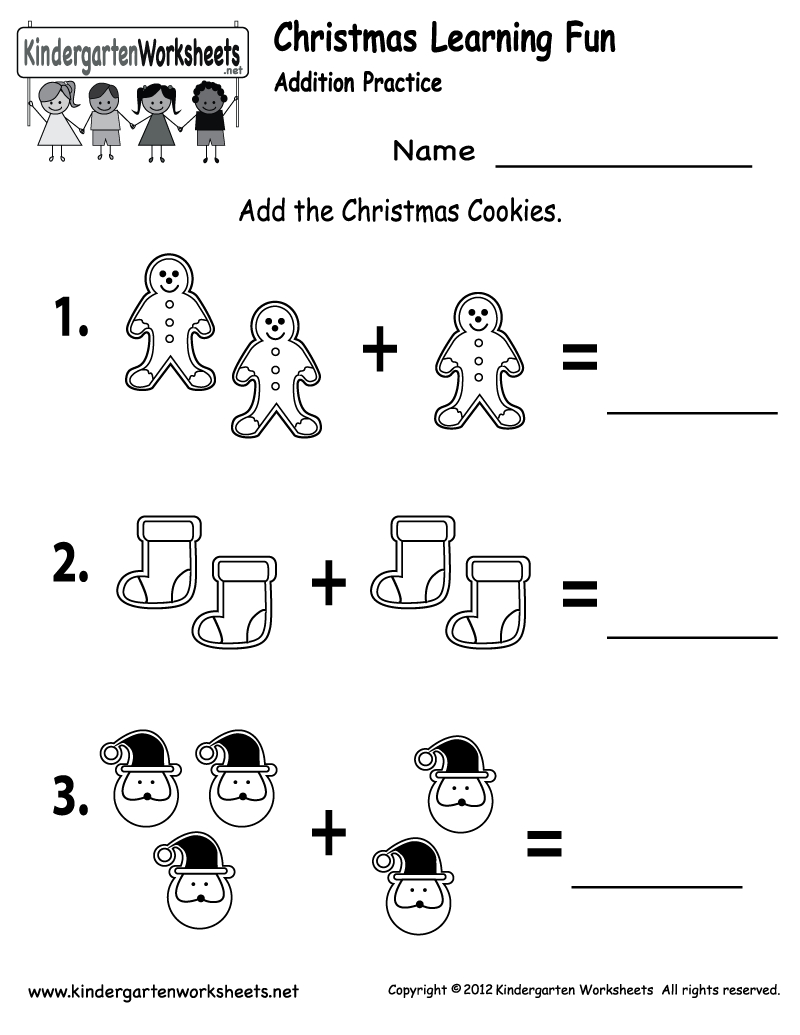 Free Printable Holiday Worksheets | Free Christmas Cookies Worksheet - Free Printable Christmas Activities