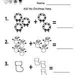 Free Printable Holiday Worksheets | Free Printable Kindergarten   Christmas Fun Worksheets Printable Free