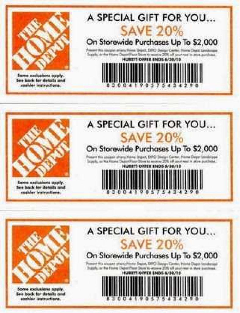 Free Printable Home Depot Coupons | Free Printable - Free Printable Home Depot Coupons