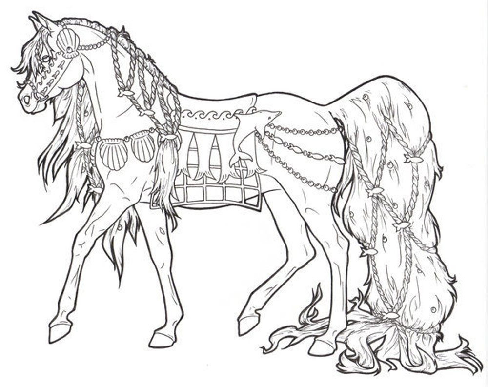 Free Printable Horse Coloring Pages For Adults   Coloring Pages - Free Printable Horse Coloring Pages