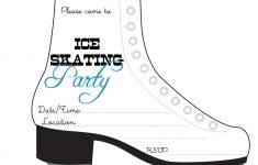 Free Printable Skating Invitations