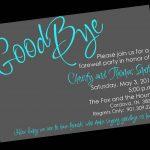 Free Printable Invitation Templates Going Away Party … | Party Ideas   Free Printable Retirement Party Invitations