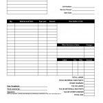 Free Printable Invoice Template 10 Printable Invoice Templates And   Free Printable Work Invoices