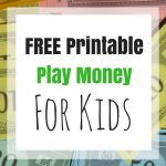 Free Printable Kids Money For Download | Kids Ain't Cheap   Free Printable Play Money