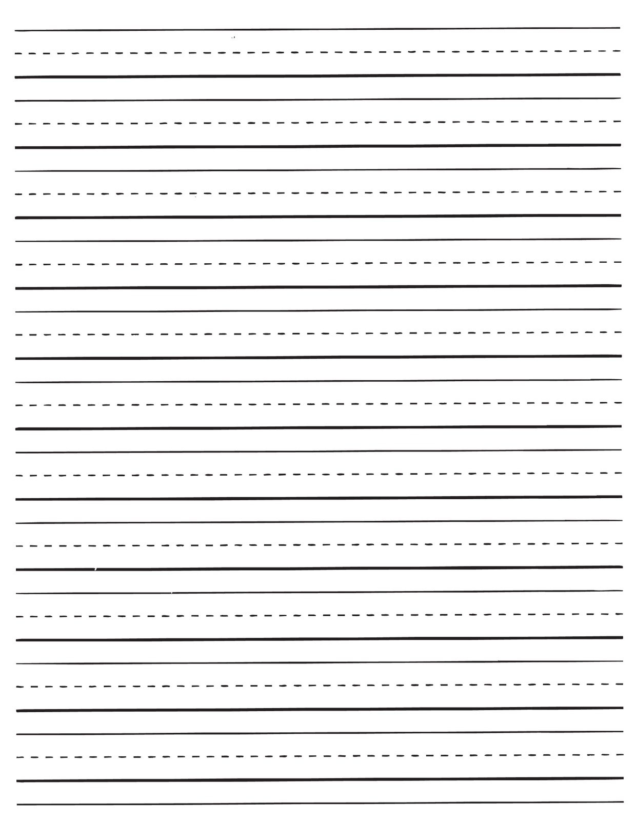 Free Printable Kids Stationery, Free Primary Lined Writing Paper - Free Printable Lined Writing Paper