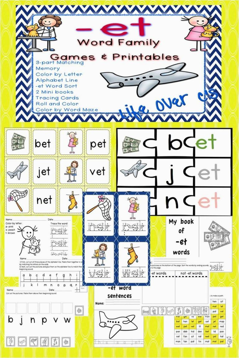 Free Printable Kindergarten Worksheets 27 New Letter A Tracing - Free Printable Word Family Mini Books