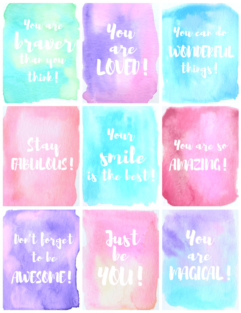 Free Printable Kindness Cards - Kid + Kin - Free Printable Kindness Cards