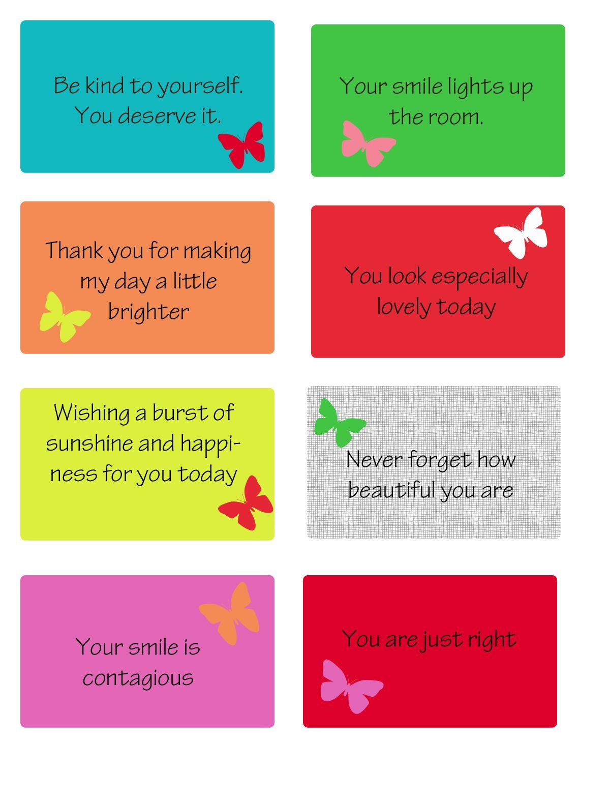 Free Printable Kindness Cards | Random Love | Printables, Kindness - Free Printable Kindness Cards