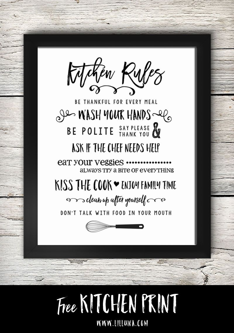 Free Printable Kitchen Signs | Printables | Pinterest | Kitchen - Free Printable Remove Your Shoes Sign